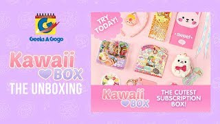 GEEKS A GOGO UNBOXING: KAWAII BOX (with Link to Giveaway)