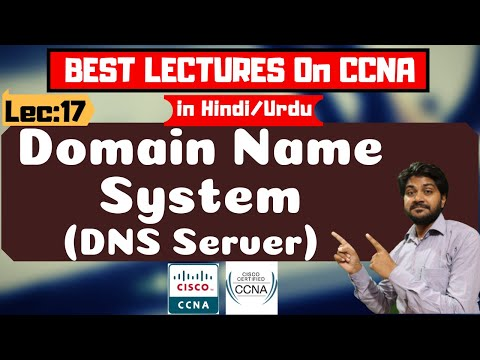 Domain Name System (DNS Server) in Hindi/Urdu | BEST CCNA TUTORIALS हिंदी में | Computer Network