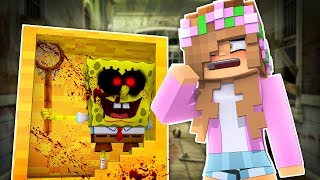 SPONGEBOB.EXE MOVES INTO THE TOYSTORE! Minecraft Little Kelly