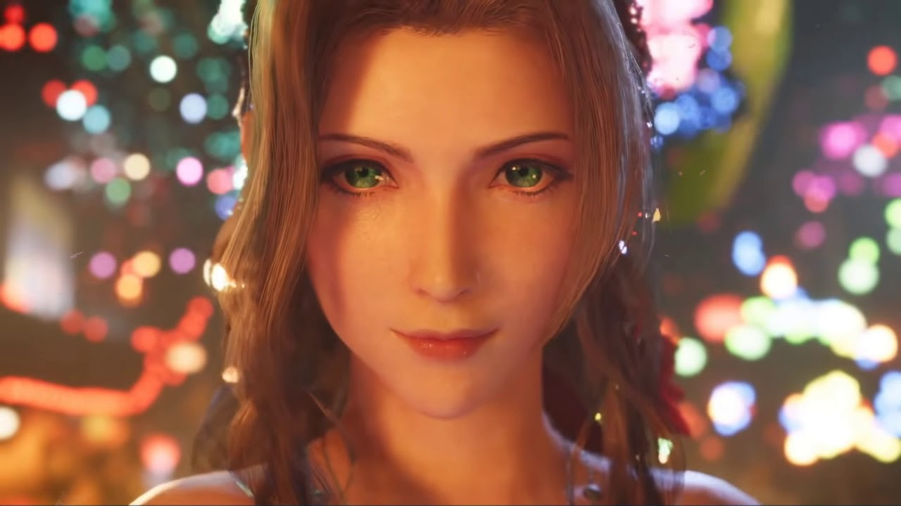 Wallpaper Enginge Ff7 Re Tgs Aerith Youtube