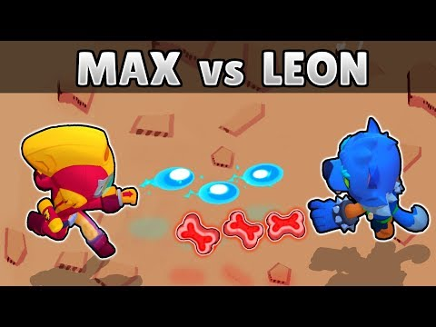 MAX Vs LEON | 1 Vs 1 | El Brawler Mas Rápido