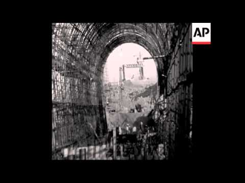 SYND 10 1 68 ASWAN DAM SOVIET DEUPTY PREMIER VISIT