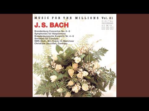 Brandenburg Concerto, No. 4 in G-Major, BWV 1049: I. Allegro mp3