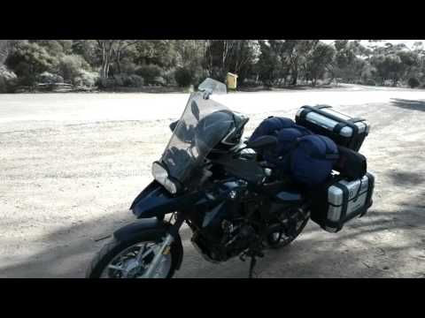 F650 GS Adventures - 4 - Crossing Australia's longest straight road and the Nullabor Plain