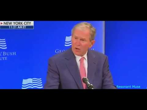George W. Bush Calls Out Trumpism Without Mentioning Trump