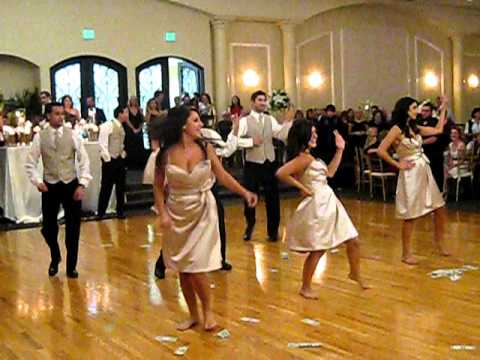 Wedding Party Dancing To Single Ladies By Beyonce