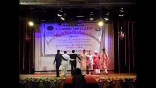 Indian Traditional Fashion Show At Advani College Annual Day 2013