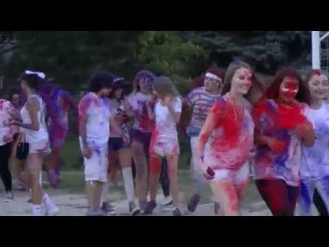Lake Park High School 2016 Homecoming Color Throw