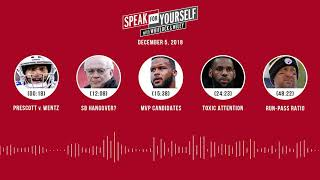 SPEAK FOR YOURSELF Audio Podcast (12.5.18)with Marcellus Wiley, Jason Whitlock | SPEAK FOR YOURSELF