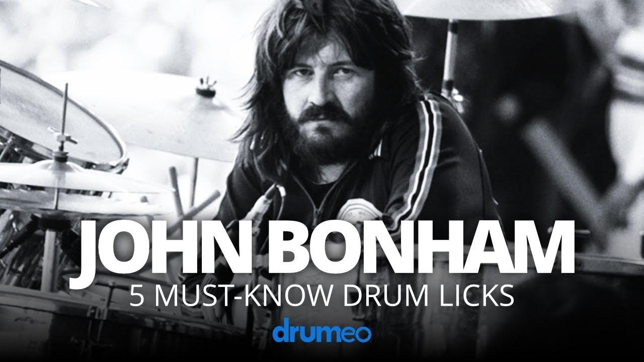 Download 5 Must-Know John Bonham Drum Licks (Drum Lesson)