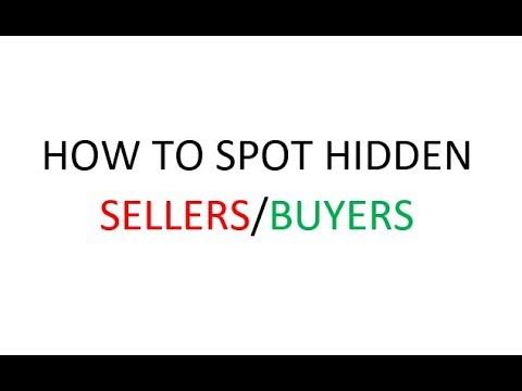 ThinkOrSwim: How to spot Hidden Buyers & Hidden Sellers