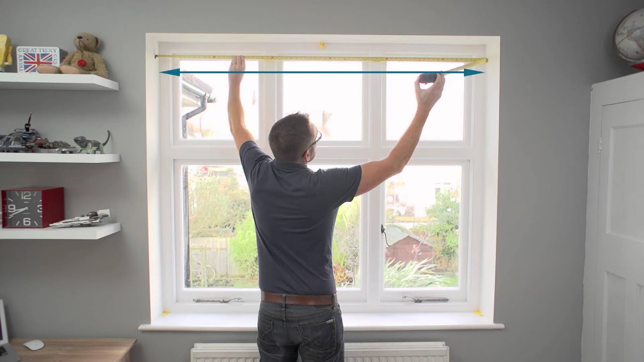 How to measure a window for tier on tier shutters youtube - Measure exterior window shutters ...