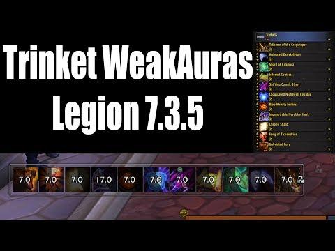 Trinket weak aura