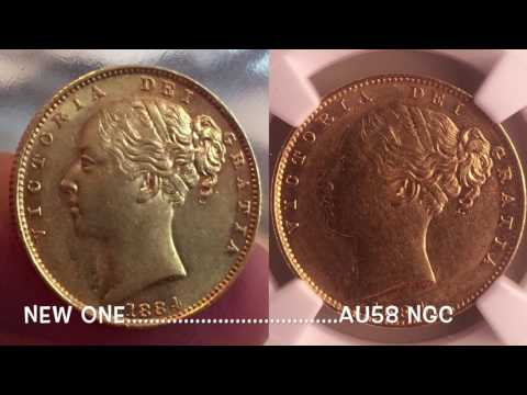 1884-M Australia Gold Sovereign arrives - nice coin but what grade?