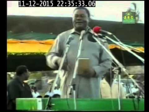 Dr Salmin Amour former Zanzibar's President