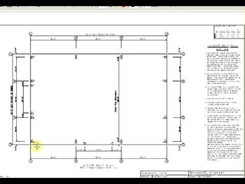 Rapidset X Metal Building Shop Garage Anchor Bolt Layout - Floor plans for metal buildings