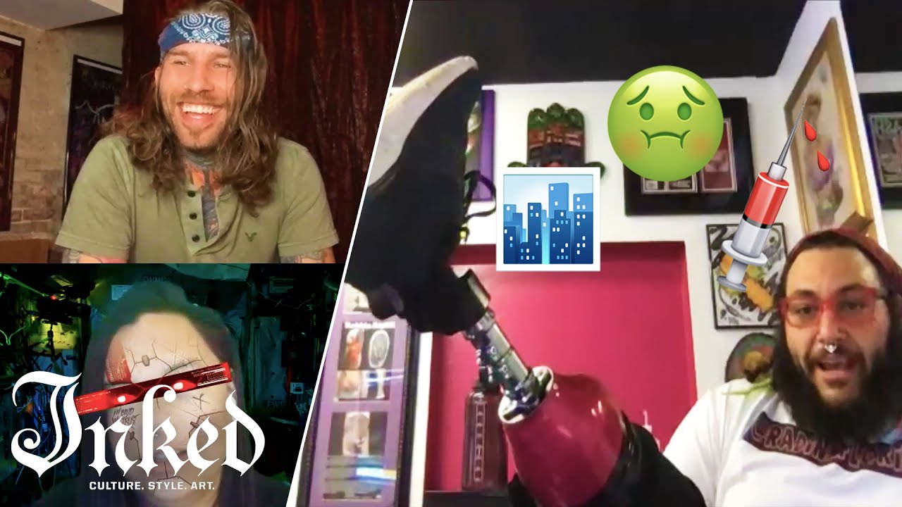 What We Did on Our COVID Lockdown | Tattoo Artists React