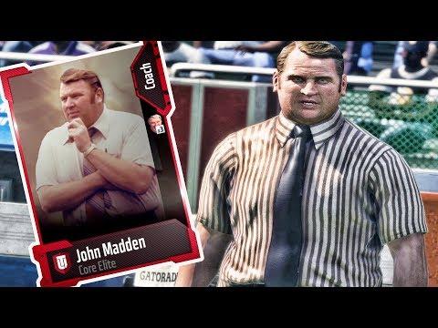 SUPER RARE MADDEN CARD!! JOHN MADDEN CRAZY STAT BOOST  MADDEN 18 ULTIMATE TEAM GAMEPLAY EPISODE 43