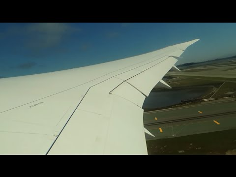 United Airlines Boeing 787-8 Dreamliner [N30913] start up and takeoff from SFO
