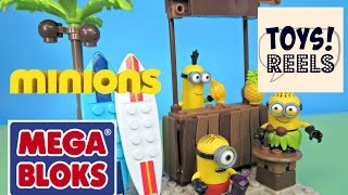 Minion Mega Bloks Banana Bar Beach Party Figure Set