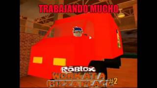 Roblox l Work at a Pizza Place#2 Trabajando Mucho