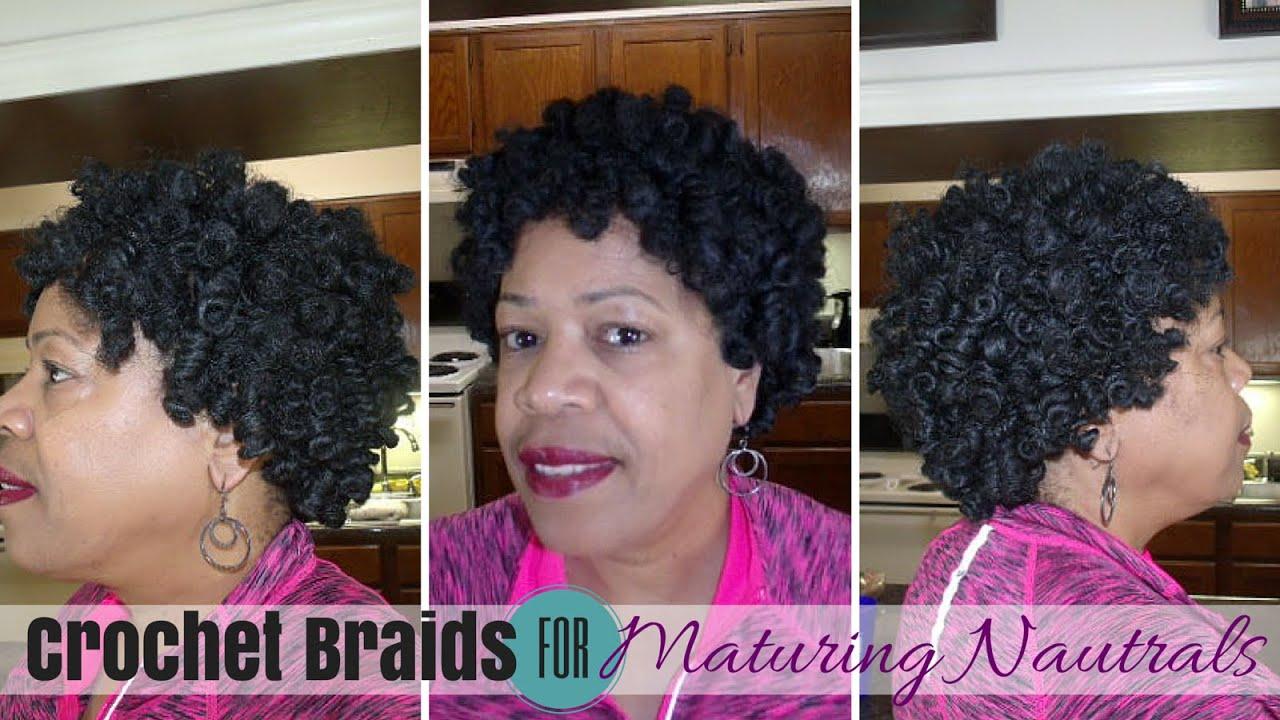 Natural Looking Crochet Braids For Mature Naturals