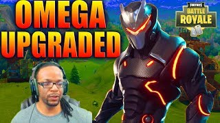 Fortnite UPGRADED OMEGA SKIN UPGRADED IN Fortnite Battle Royale - Daryus P