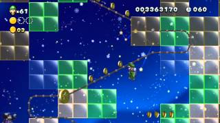 New Super Luigi U - 9-9. Flying Squirrel Ovation [ALL STAR COINS]