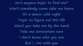 Avril Lavigne Im With You Lyrics