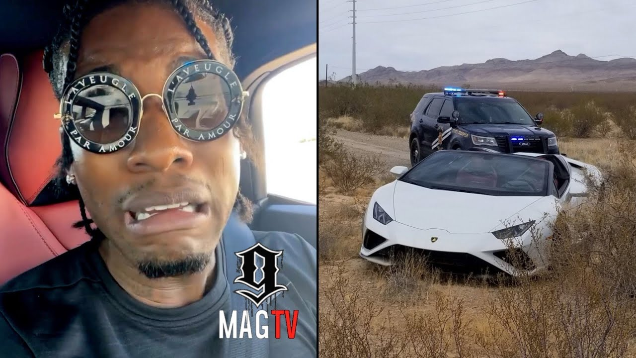 CJ So Cool Gets Pulled Over By The Ops For Speeding In His Lambo! 🚔