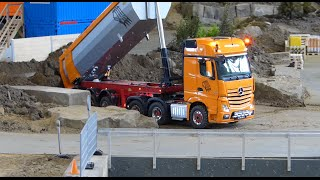 Mercedes Benz Actros at Work in the Stonebreaker Area