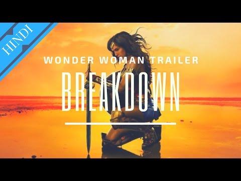 WONDER WOMAN Origin Trailer Breakdown   Explained in Hindi   DC Hindi