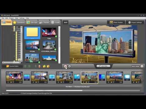 How to Make a Slideshow Video for PC, TV, Smartphones, and the Web!