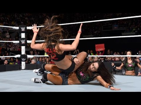 WWE RAW 11.17.14 Brie Bella vs. Nikki Bella (720p) thumbnail