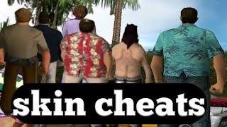 gta vc character skin cheat codes