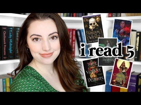 I READ 5: popular YA fantasy books