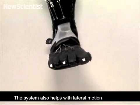 Robo-ankle helps strengthen foot muscles