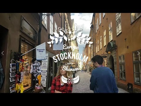 Skansen, Old Town - Stockholm Travel Vlog - Day Two