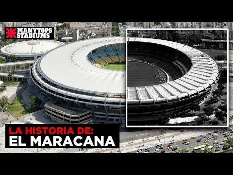 La historia del mítico Estadio Maracana HD 2017   Con Jorge Livan