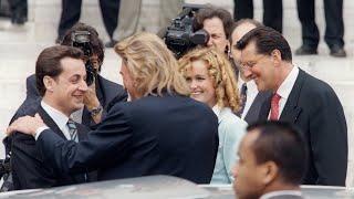 VIDÉO - Nicolas Sarkozy rend hommage à Johnny Hallyday