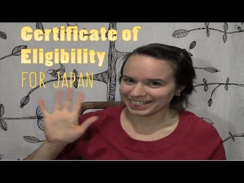 What is a Certificate of Eligibility?