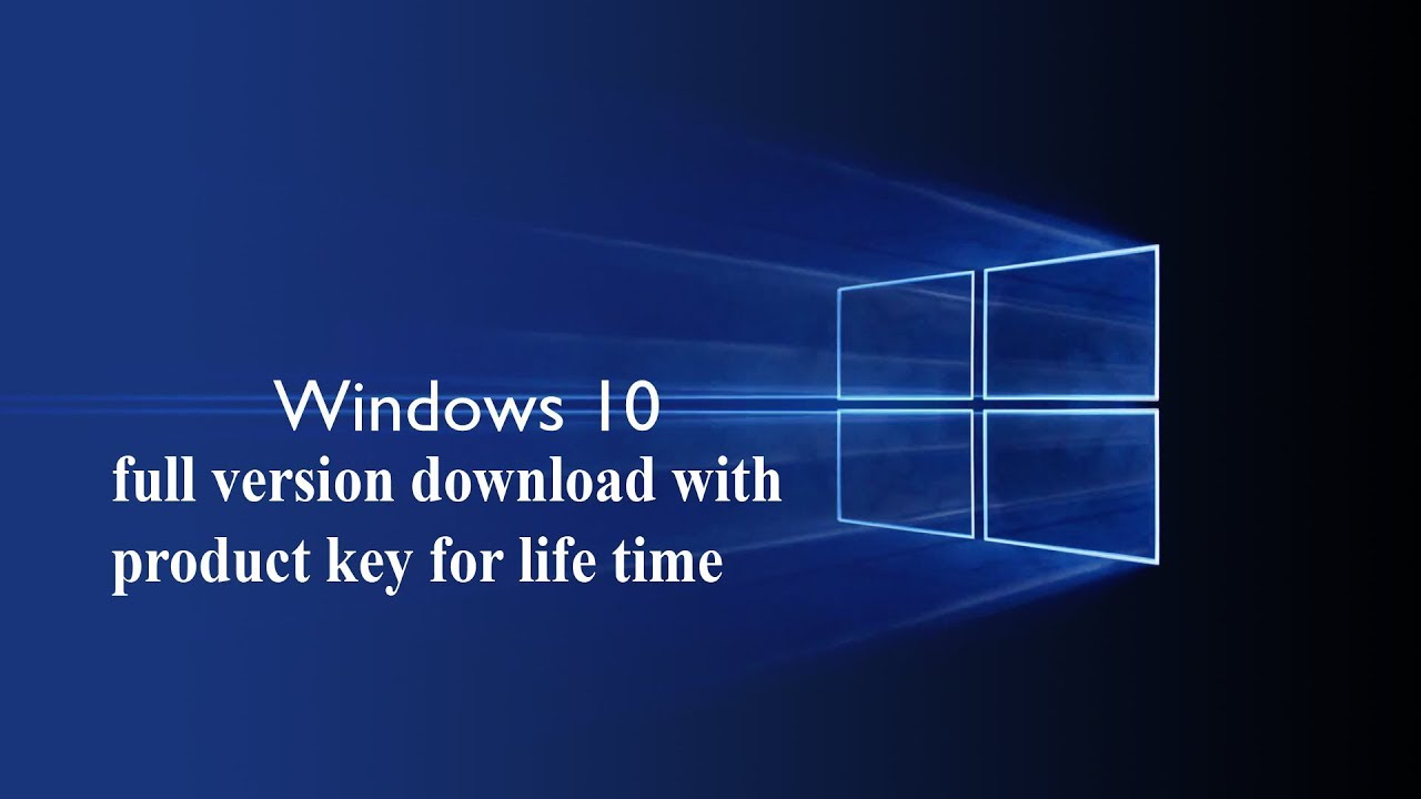 windows 10 iso file full version with product key for life ...
