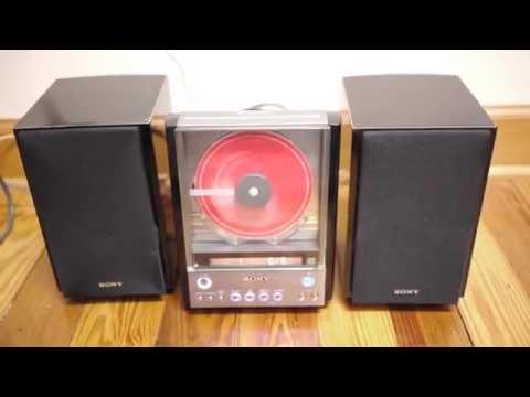 Sony CMT-EX22 HDC Mini Bookshelf CD Player Stereo SS-CEX22 Speakers