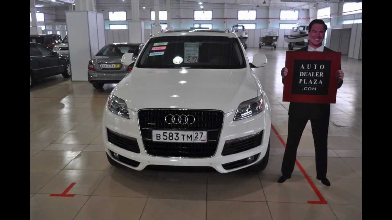 2009 Audi Q7 3 0 Quattro S Line Premium Plus Package In Khabarovsk