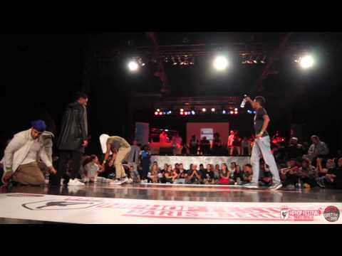 Quarter Final 1VS1 Battle Kanon & Larry LesTwins (Judge Joker) VS Zyko | HipHop Festival 2015
