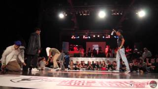 Quarter final 1vs1 battle kanon & larry lestwins (judge joker) vs zyko | hiphop festival 2015