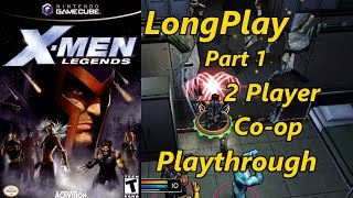 X-Men Legends - Longplay 2 Player Co-op (Part 1 of 2) Full Game Walkthrough (No Commentary)