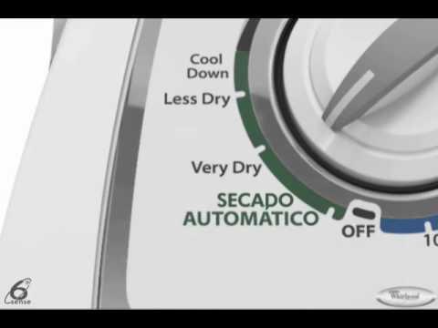 Secadoras Whirlpool Secado A Gas Youtube