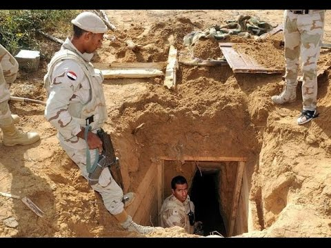 Egypt Destroys 521 Tunnels Into Gaza Strip, No One Flips Out