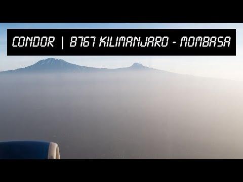 MY PILOT BLOG | B767 full flight | KILIMANJARO - MOMBASA